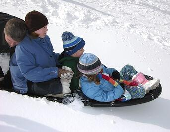 Be safe and protect yourself with helmets while sledding and personal from Andrew Gordon Inc Insurance Norwell MA