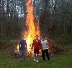 Protect yourself while still burning to keep your yard clean with personal from Andrew Gordon Inc Insurance Norwell MA