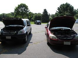Pop the hoods to jump start your car and cover your vehicle with auto from Andrew Gordon Inc Insurance Norwell MA