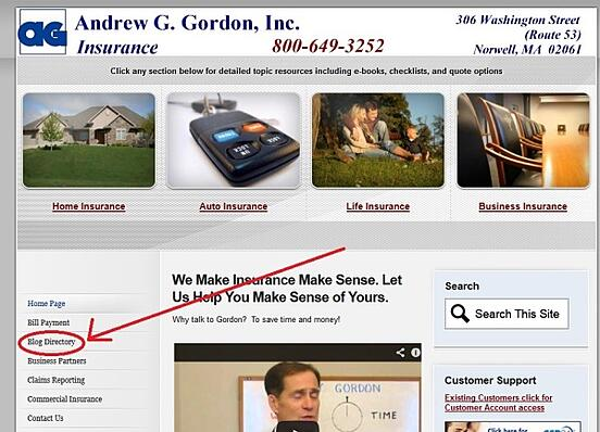 Read Andrew G Gordon blogs for insurance info