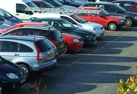 Be safe in parking lots with auto from andrew g gordon inc