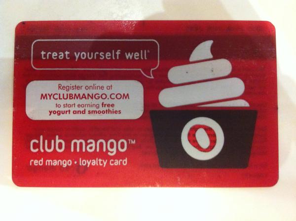 red mango card