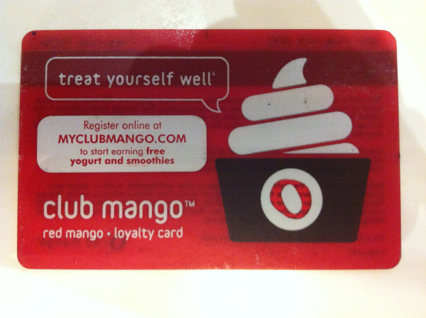 red mango card