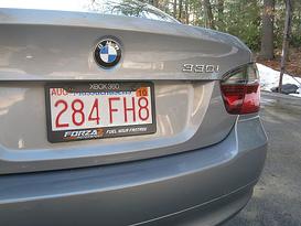mass license plate, image via wikipedia