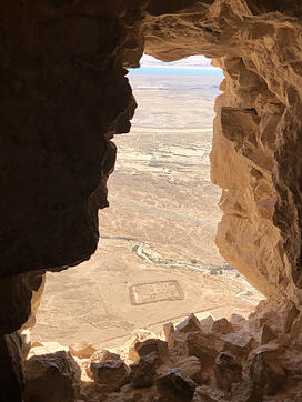 Masada to Roman siege camp