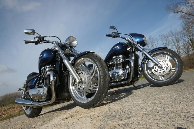 Rose Motorcycle Image
